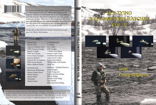 fly tying dvd cover