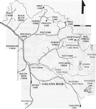 Madison River Montana Map.Yellowstone Fly Fishing Gallatin River Map
